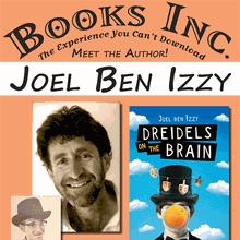 JOEL BEN IZZY at Books Inc. Berkeley