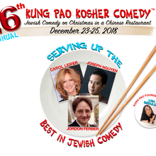 Kung Pao Kosher Comedy: Jewish Comedy on Christmas in a Chinese Restaurant