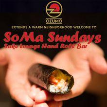 SoMa Sundays at Ozumo SF