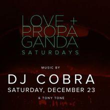 L+P Saturdays w/ DJ Cobra