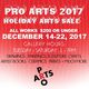 Pro Arts Holiday Arts Sale