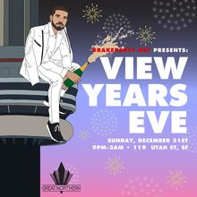 Drakeparty.net presents #ViewYearsEve - A Drake Tribute Party - Sunday 12/31/17