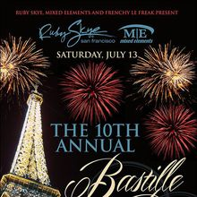 The 10th Annual Bastille Day Party
