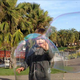 Soap Bubble Flash Mob