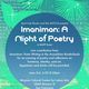 Imaniman: A Night of Poetry
