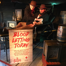 "THE SAN FRANCISCO DUNGEON. AMERICAN RED CROSS TO HOST HOLIDAY ""BLOODLETTING"" ON FRIDAY, DEC. 12"