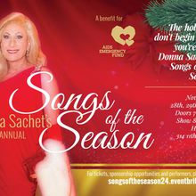Donna Sachet's 24th Annual Songs of the Season
