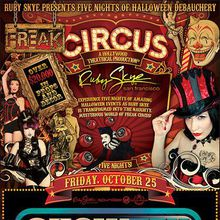 Freak Circus with Showtek