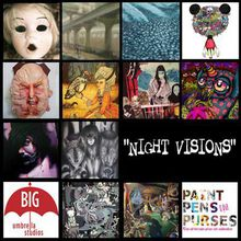 """Art Opening """"Night Visions: Dreams & Creatures of the Night"""""""