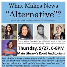 "What Makes News ""Alternative""?"