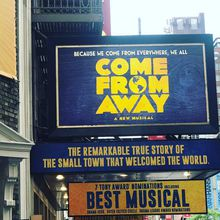 Come From Away - Award Winning Musical