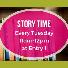 BAYFAIR CENTER HOSTS WEEKLY STORYTIME EVENT