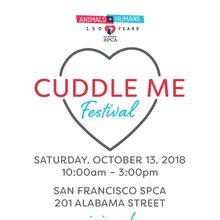 SF SPCA Cuddle Me Festival