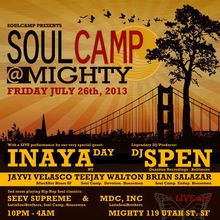 Soul Camp: DJ Spen, Inaya Day