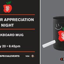 SF Giants Educator Appreciation Night - vs. Braves