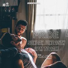 PRIDE SUNDAY VIP PASSES