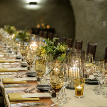 Join Winemaker Michael Beaulac for an Elegant Dinner in the Caves at Pine Ridge Vineyards