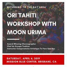 Ori Tahiti Workshop with Moon Urima