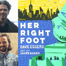 DAVE EGGERS & SHAWN HARRIS at Books Inc. Opera Plaza