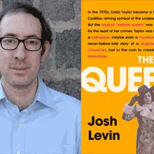 Alta Magazine & Books Inc. Present JOSH LEVIN at Alameda