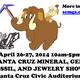 62nd Annual Santa Cruz Gem and Mineral Show