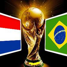 BRAZIL vs. NETHERLANDS 2014 World Cup 3rd Place Game