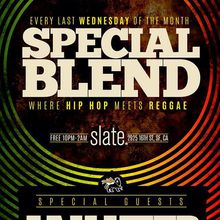 """""""Special Blend"""" with guest djs Jah Yzer and Tophone"""