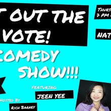 Get Out The Vote! with The Comedy Resistance