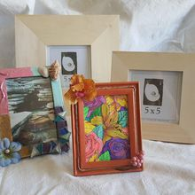 Framing your life - An afternoon of decorating picture frames