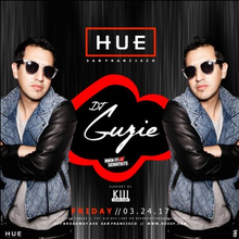 Hue Fridays with DJ Guzie