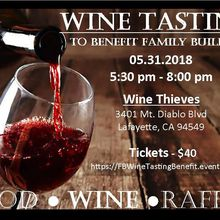 Wine Tasting Fundraiser to benefit Family Builders