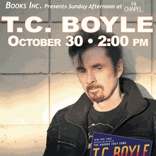 Sunday Afternoon at The Chapel with T.C. BOYLE