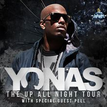 Yonas with special guest Pell (Emerging hip-hop artist)