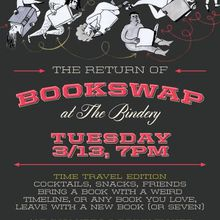 Bookswap at the Bindery: Time Travel Edition