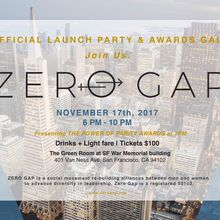 ZeroGap Launch Party & Power of Parity Awards