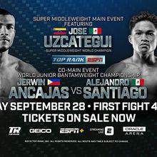 Top Rank Boxing Presents World Championship Boxing