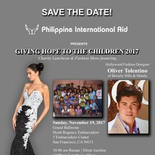 Philippine International Aid | Giving Hope to the Children 2017