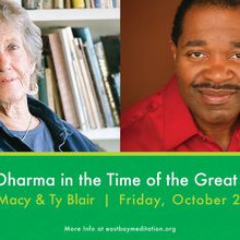 Liberation Dharma in the Time of the Great Unraveling: A conversation with Joanna Macy and Ty Blair