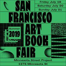 San Francisco Art Book Fair 2019