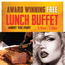 NEW Free Lunch Buffet