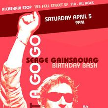 BARDOT A GO GO'S SERGE GAINSBOURG DANCE PARTY