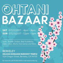 Berkeley Ohtani Summer Bazaar