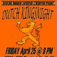 Dutch Kingsday Night or Koningsnacht
