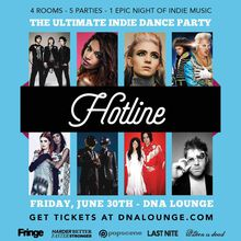HOTLINE, the ultimate indie dance party connection!