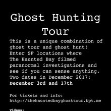 The Haunted Bay Ghost Hunting Tour