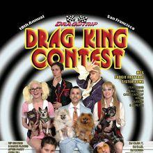 SF Drag King Contest