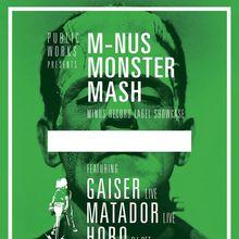MINUS MONSTER MASH w/ Gaiser (Live), Matador (Live) & Hobo on Halloween