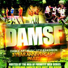 DAMSF (dance.art.music.style.fashion) 3 Year Anniversary Party Feat Ellen Kim & Ellona Santigo