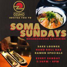 Sunday Ramen Tasting and Hand Roll Bar