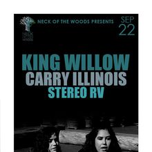 KING WILLOW, Carry Illinois, Stereo RV